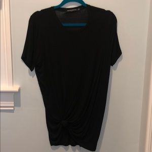 Brandy Melville Cotton Tee Shirt with Knot